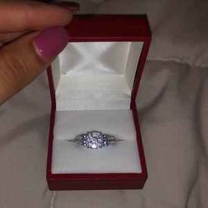 Real I-3 diamond ring! 1/4 carat i3 diamond!
